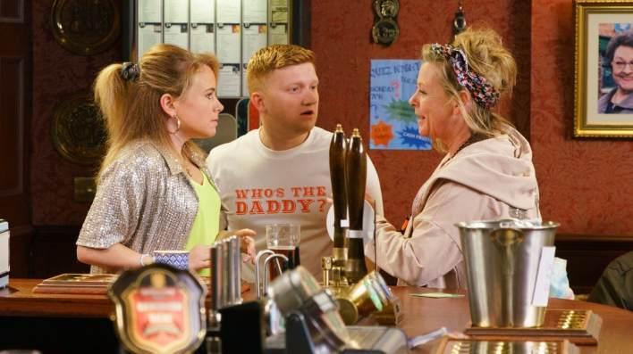 Gemma, Chesney and Bernie - Coronation Street - ITV