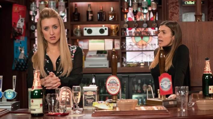 Eva and Michelle - Coronation Street - ITV