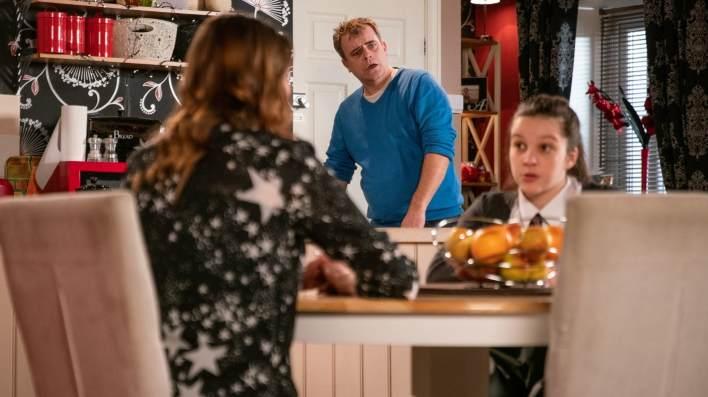 Steve, Tracy and Amy - Coronation Street - ITV