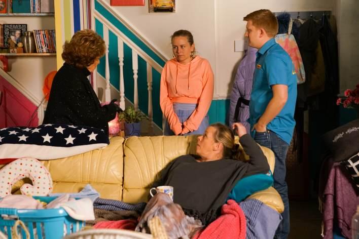 Rita, Gemma, Chesney and Bernie - Coronation Street - ITV