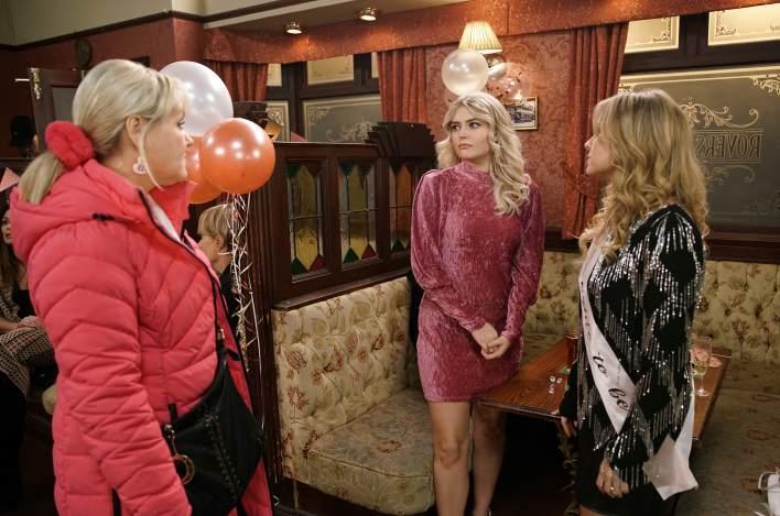 Beth, Bethany and Sarah in The Rovers - Coronation Street - ITV