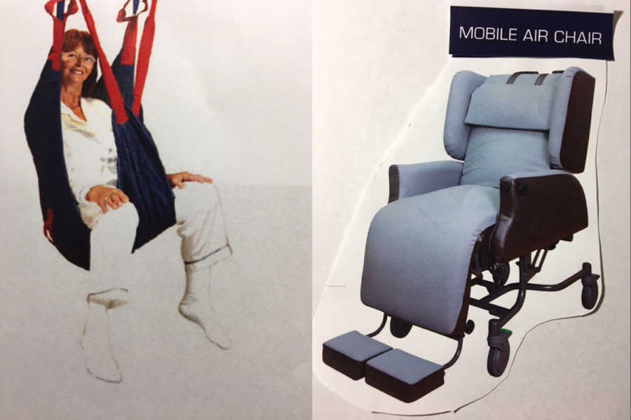 Lift Swing and Mobile Air Chair