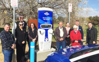 Jugiong electric vehicle fast charger now open
