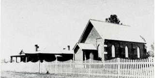 Methodist Church and Parsonage c. 1937