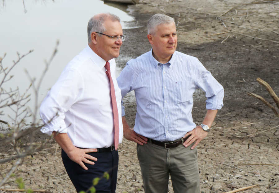 Prime Minister and Deputy Prime Minister announce more drought funding.