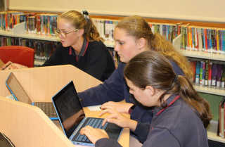 Boorowa Central School students participate in Big Sky Thinking.
