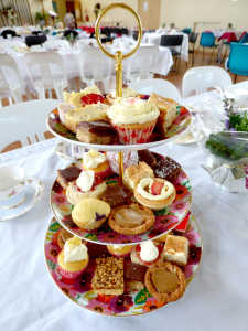 Delicious treats at the High Tea
