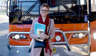 Member for Cootamundra Steph Cooke announces a new trial bus service.