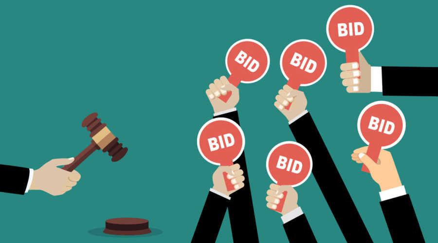 Buying a property  at auction