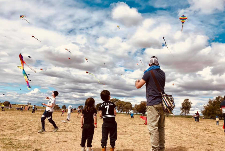 Last year's Kite Festival. Photo by Ivy Hch.