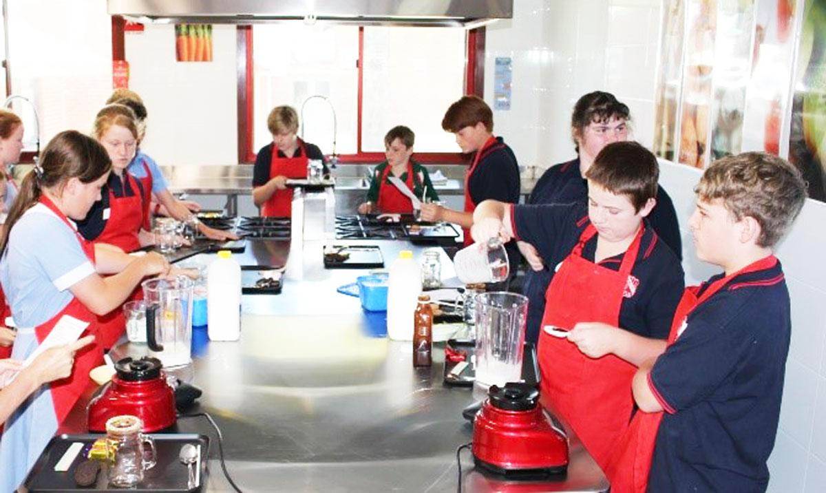 Food Tecnology class in full swing