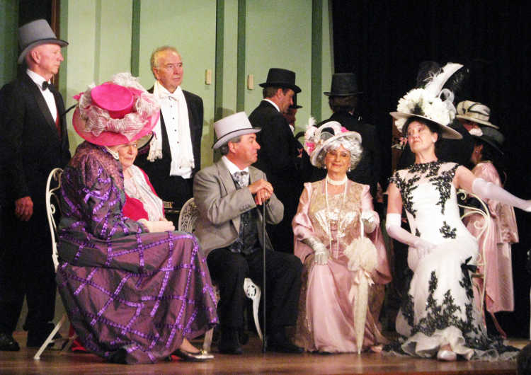A scene from My Fair Lady.
