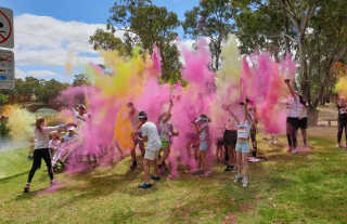 The Cherry Chase colour run