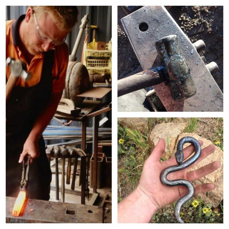 HMAC launching blacksmith workshops