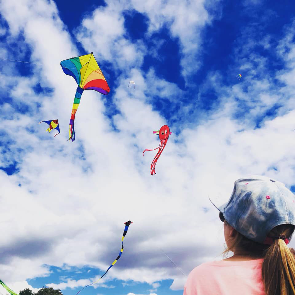 Last year's Kite Festival. Photo by Jennifer Mckay.