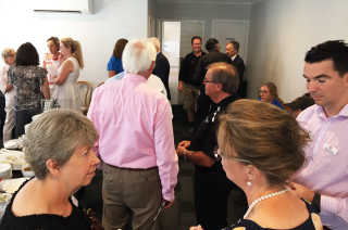Guests at the Business for Breakfast event in January.
