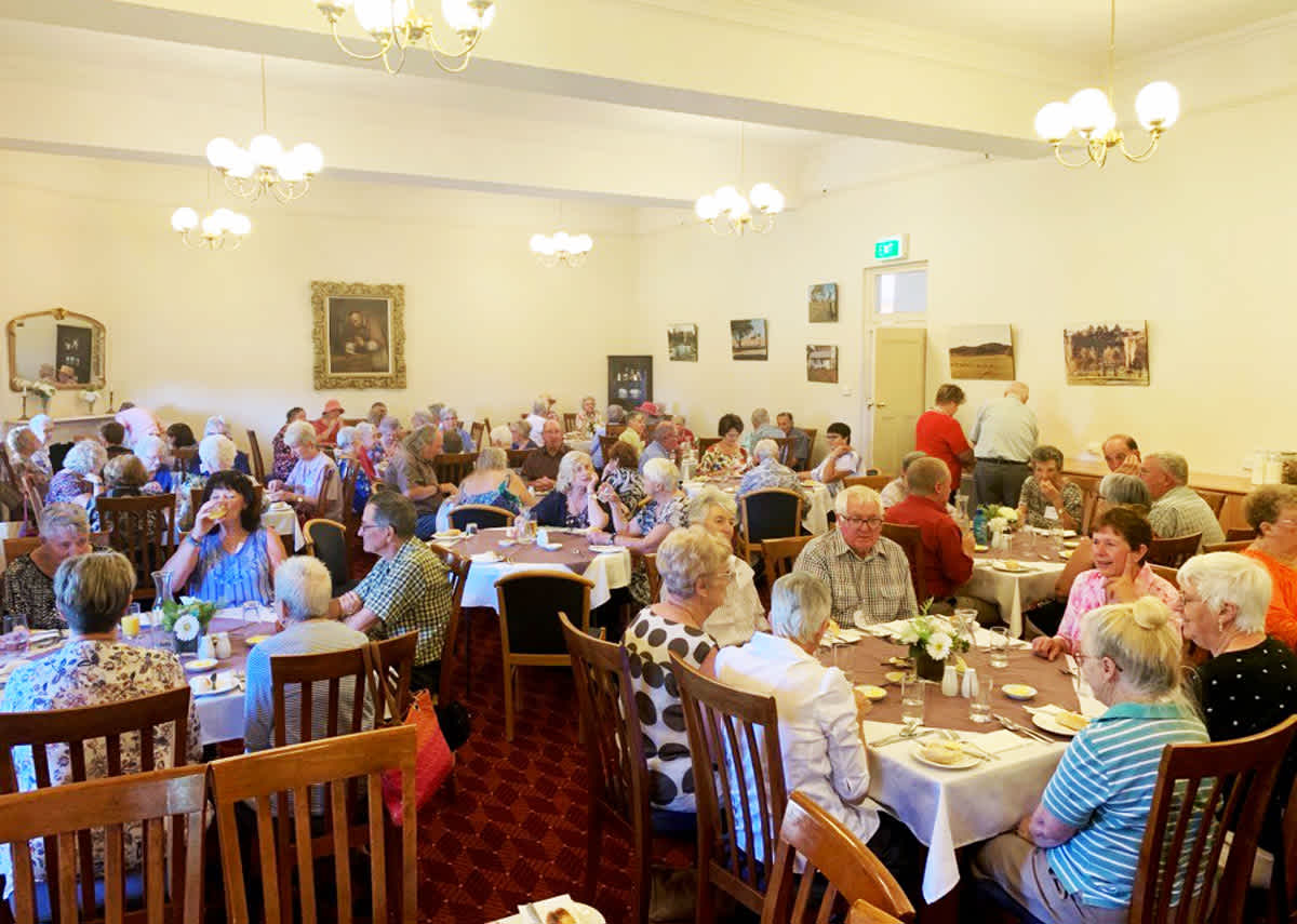 Hilltops Seniors Festival Lunch in 2019.