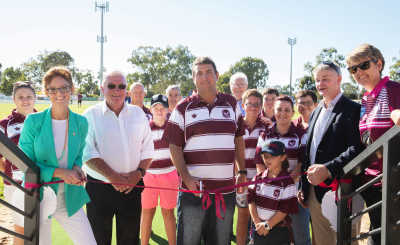 McLean Oval Upgrades Opening
