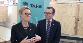 Steph Cooke Cuts The Ribbon On Second Stage Of Young Tafe's $10M Redevelopment