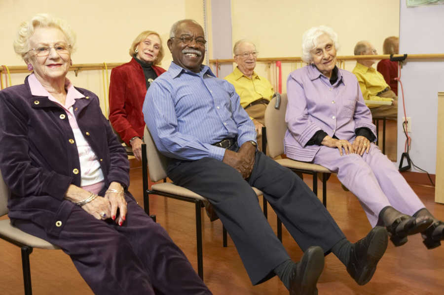 Stepping On falls prevention program