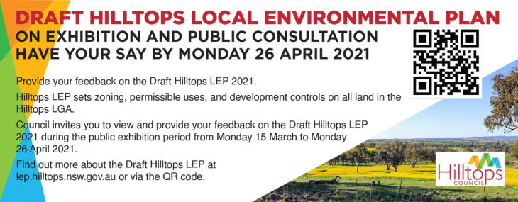 Draft Hilltops Local Environment Plan