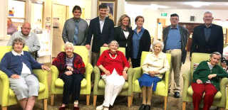 Federal Member for Hume Angus Taylor, with Liberal candidate for Goulburn Wendy Tuckerman, delivered the good news to Burrowa House of Federal funding and additional aged care places to allow major expansion plans to go ahead.