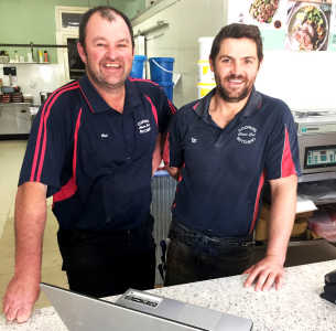 The boys from Coopers Choice Cut Butchery