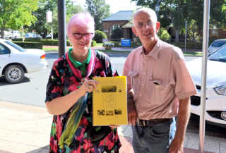 Cheryl and John Mudford who co-authored a book on the history of local Post Offices and telephone exchanges.