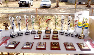 Awards at last year's Show'n Shine.