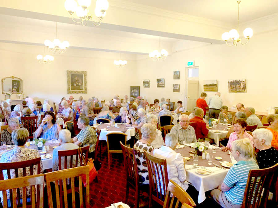Hilltops Seniors Festival Lunch