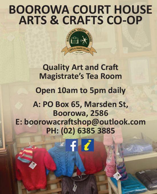 Boorowa Court House Arts & Crafts CO-OP