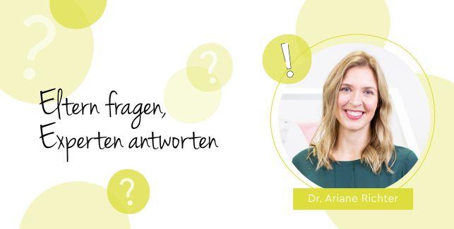 Kinderärztin Ariane beantwortet die wichtigsten Fragen rund um die Bildschirmzeit für Babys und Kleinkinder