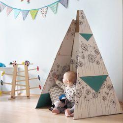 Selbstgebasteltes Zelt aus der LILLYDOO Monatsbox
