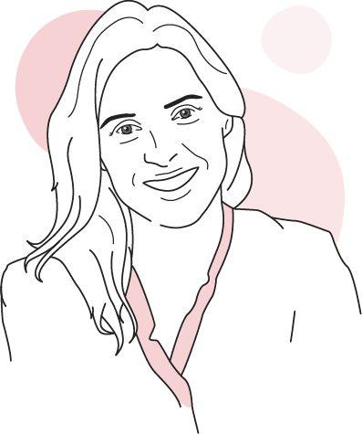 Illustration der Kinderärztin und LILLYDOO Expertin Dr. Ariane Richter
