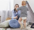 I primi passi del bambino: a che età si fanno e come aiutarlo?