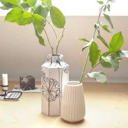 Selbstgebastelte Vase aus der LILLYDOO Monatsbox