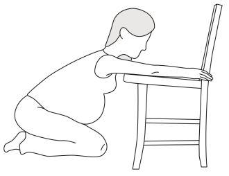 Anleitung zur Kreuzbeinmassage Schwangerschaft LILLYDOO