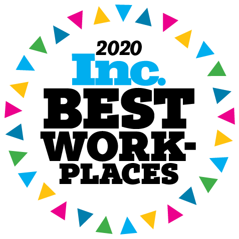 Inc. Best Places to Work 2020 Award