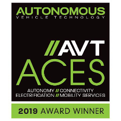 2019 Autonomous Vehicle Technology ACES Award