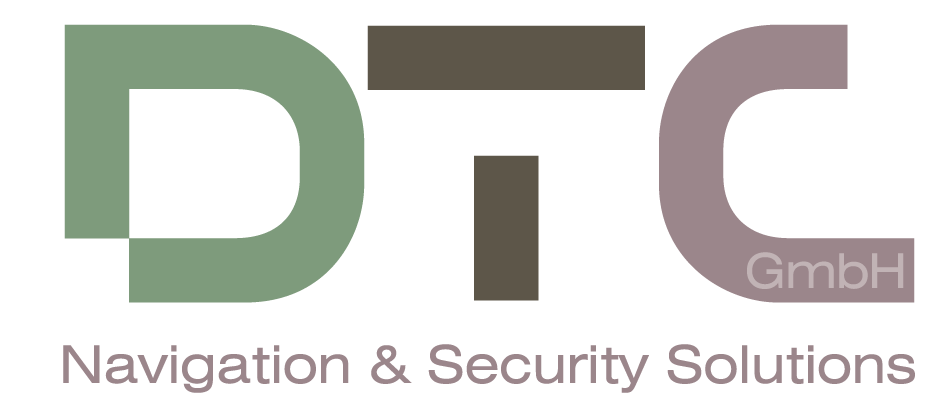 Logo for DTC GmbH Navigation & Security Solutions