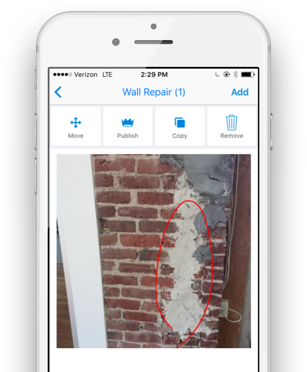 Mobile field reporting software for construction site risk management