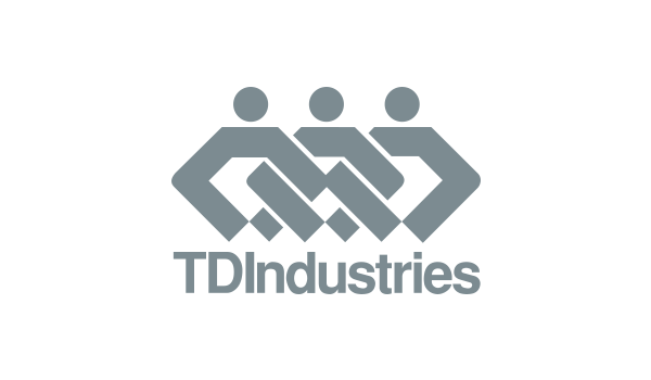 TD industries - logo dark