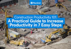 Construction productivity 101