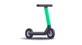 service Scooter icon