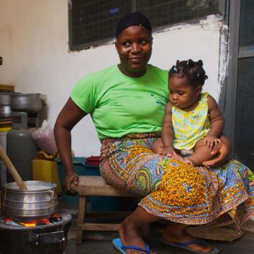 Heizoefen in Ghana