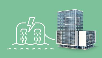 Oekostromproduktion für Firmengebäude
