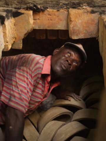 Mann in Ghana