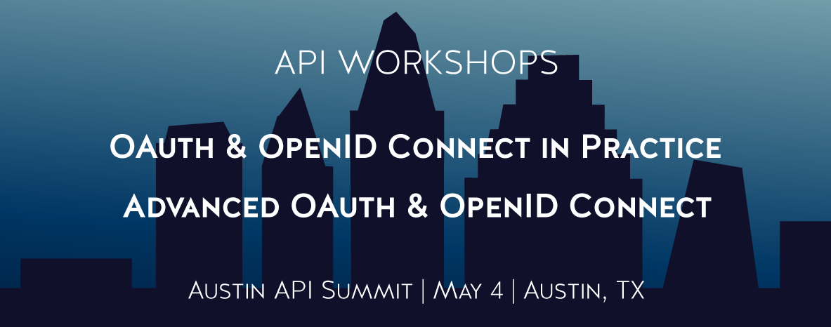 Learn about OAuth and OpenID Connect with Curity at the Austin API Summit 2020