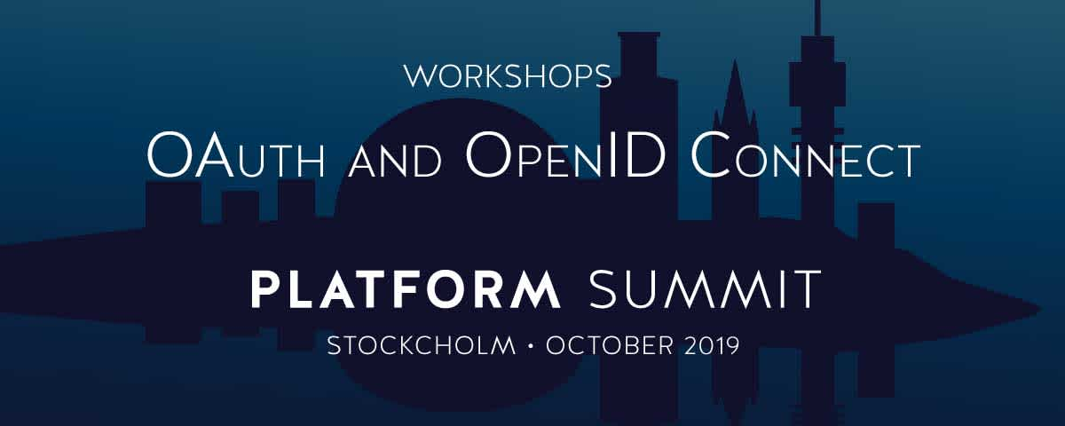 Learn about OAuth and OpenID Connect with Curity at the 2019 Platform Summit