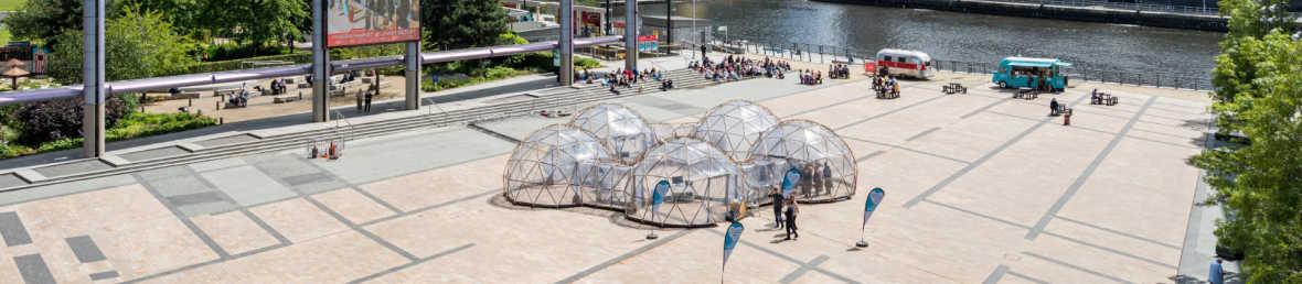 Pollution Pods land in Greater Manchester for Clean Air Week 2019